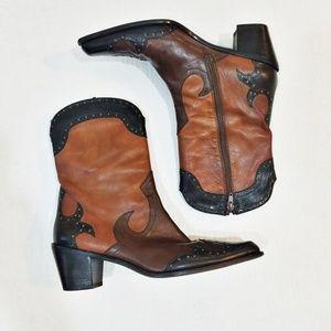 Stuart Weitzman cowboy boots